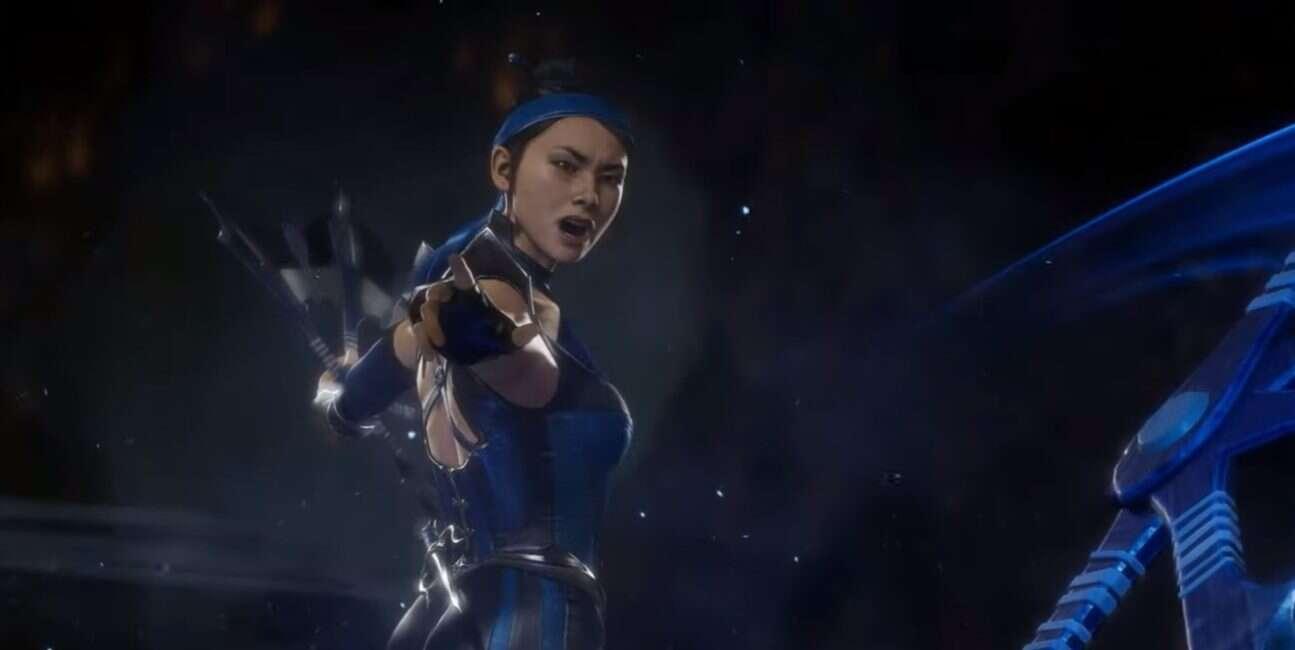 Kitana na nowym materiale Mortal Kombat 11