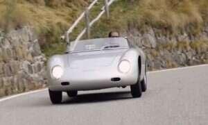 Porsche 356 Carrera Zagato przywrócony do życia ze starych fotografii