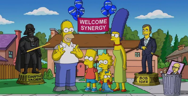Simpsonowie przechodzą do Disney+