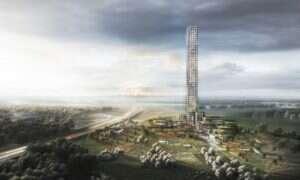 Największy wieżowiec w zachodniej Europie ma powstać w niewielkiej mieścinie