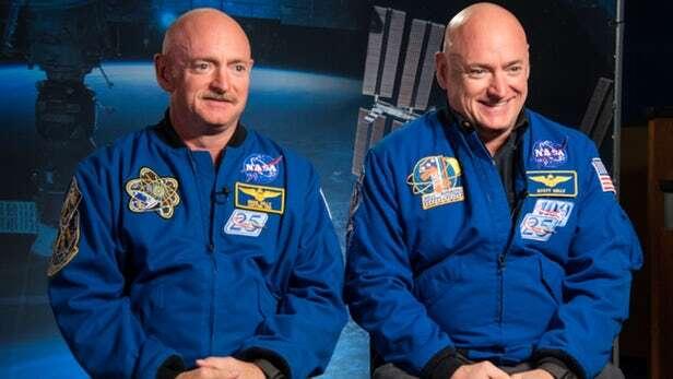 NASA, bliźniaki NASA, bliźniaki kosmos, badanie NASA, geny w kosmosie, zmiany ciała kosmos