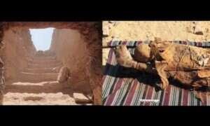 W Egipcie odkryto tajemniczy grobowiec mężczyzny