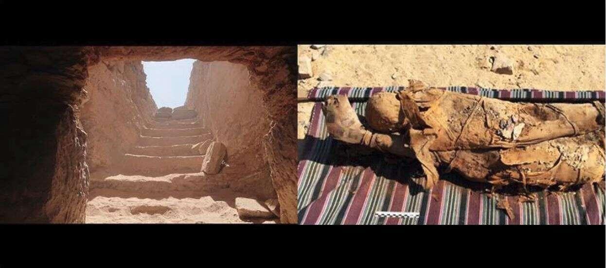 grobowiec, grobowiec egipt, tjt egipt, grobowiec tjt, odkrycie grobowca, nowy grobowiec egipt,