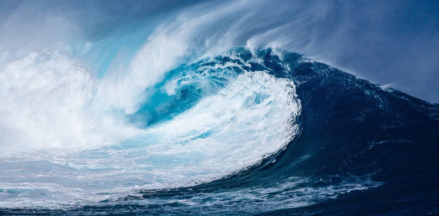 Fale oceaniczne, wielkość fale, fale, wielkość fal oceanicznych, szybkość wiatrów, wiatry, wiatry oceany, wiatry a fale