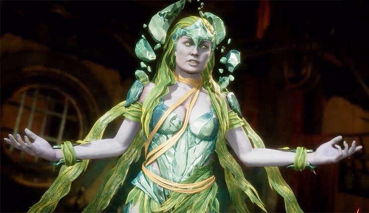 Był piasek, są i kryształy - Cetrion drugą zupełnie nową postacią w Mortal Kombat 11