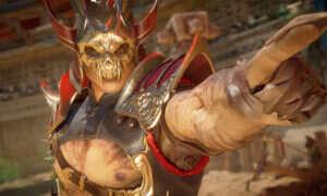 Shao Kahn macha młotem i włócznią w nowym materiale z Mortal Kombat 11