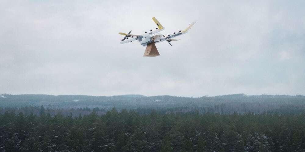 Firma Wing jako pierwsza rozpocznie dostawy za pomocą dronów w USA