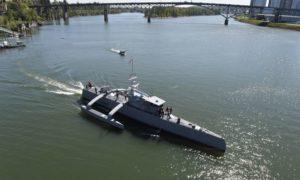 Bezzałogowy okręt Sea Hunter Marynarki USA może uratować życie tysięcy