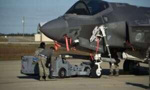 System Sidekick zwiększa o połowę liczbę rakiet myśliwca F-35