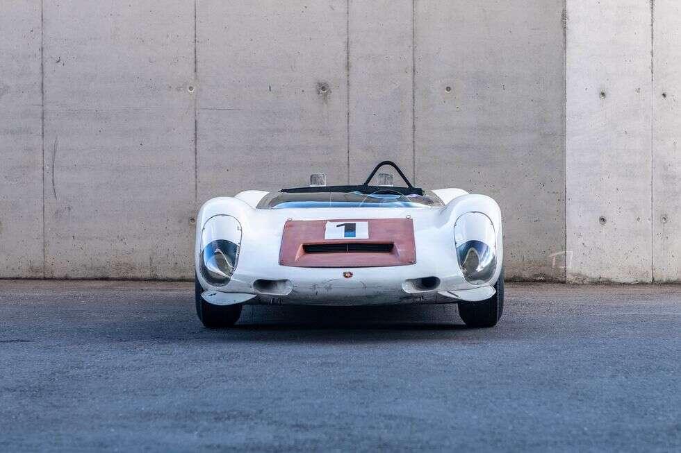 910/8 Bergspyder jest jednym z najlżejszych samochodów wyścigowych Porsche
