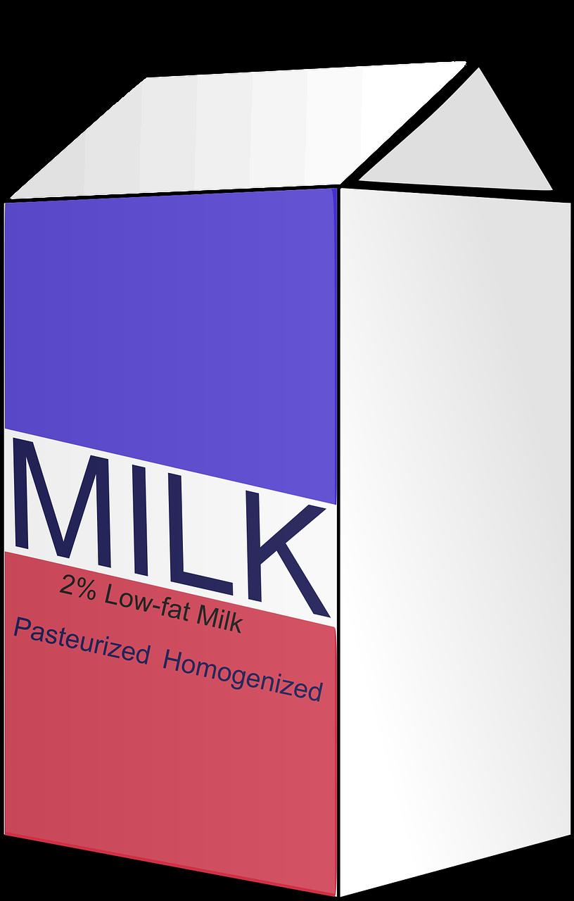 mleko, karton na mleko, inteligentny karton na mleko, marnotrawienie mleka, ważność mleka, data ważności mleka