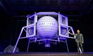 Lądownik Blue Moon od najbogatszego człowieka na świecie ma pomóc w podbijaniu księżyca