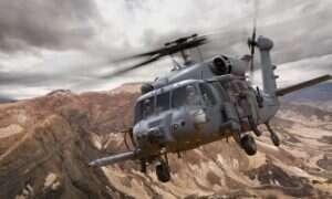 Bojowy helikopter ratunkowy Sikorsky HH-60W zaliczył swój dziewiczy lot