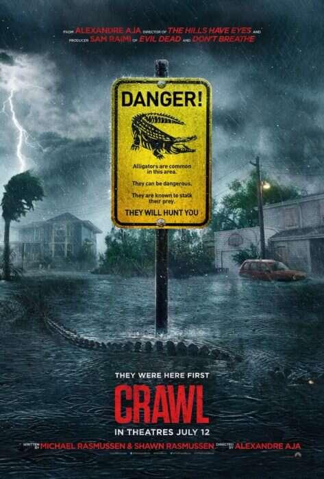 Zwiastun Crawl: morderczy aligator atakuje