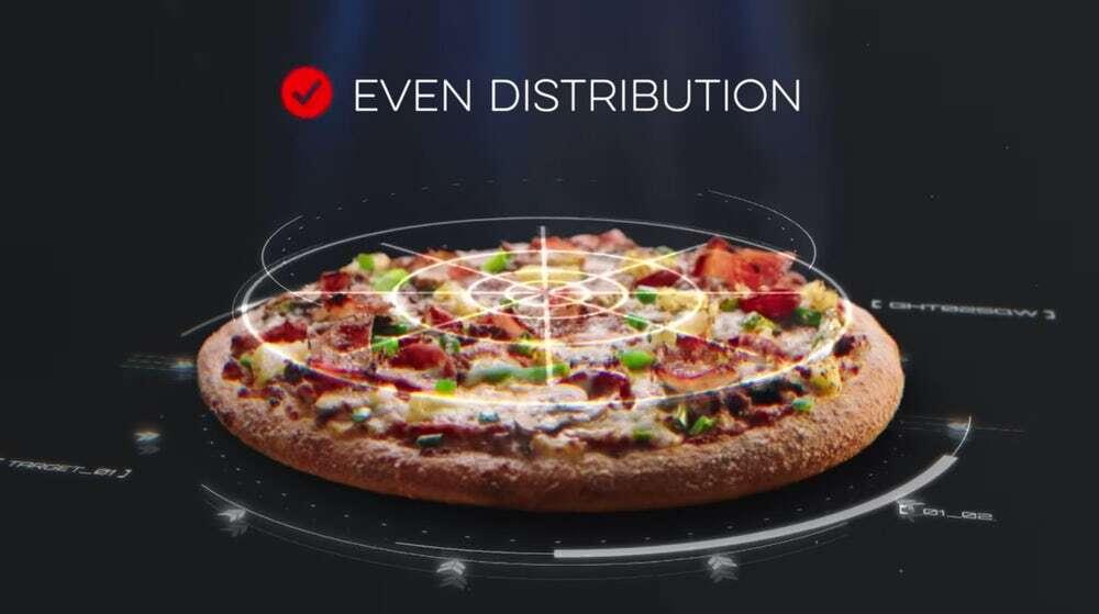 Domino's Pizza stworzyło skaner pizzy