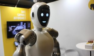 Humanoidalny robot EVE r3 pomoże naukowcom