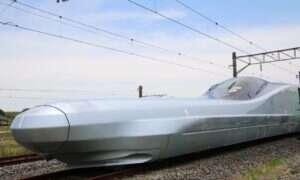 Najnowszy japoński pociąg Alfa-X przebija barierę 360 km/h