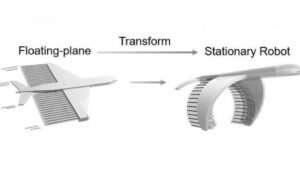 Robot w kształcie latającego wieloryba dostarczy leki do naszego ciała