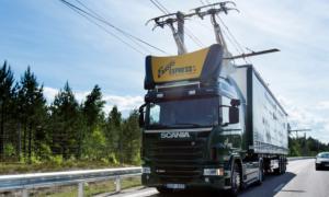 Niemiecka autostrada może pochwalić się liniami energetycznymi do napędzania ciężarówek