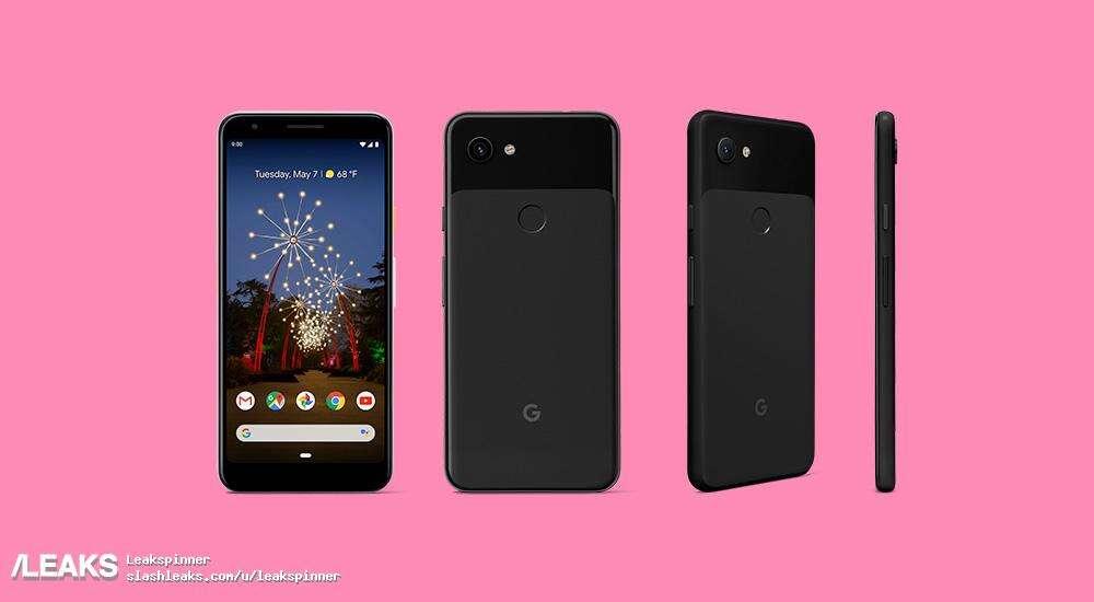 Google Pixel 3a, render Google Pixel 3a wygląd Google Pixel 3a, specyfikacja Google Pixel 3a, parametry Google Pixel 3a
