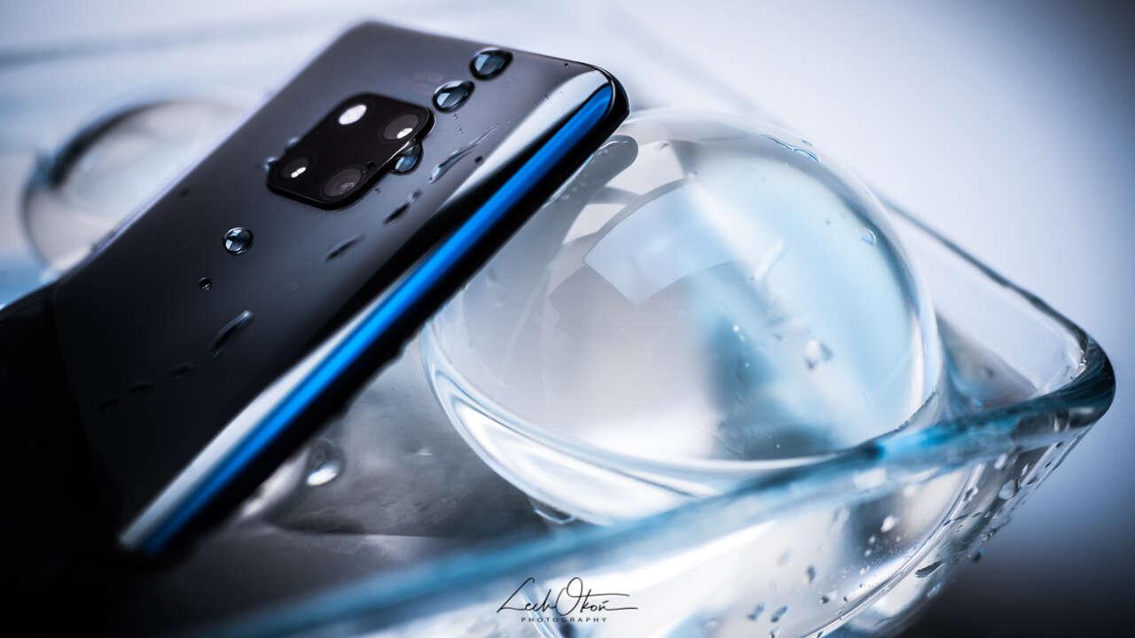 Huawei Mate 20 Pro nie boi się wody