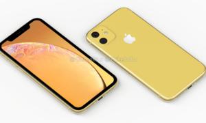 Apple iPhone XR (2019) na nowych renderach