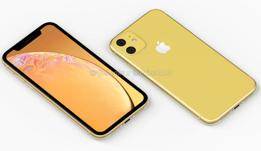 Apple iPhone XR (2019), iPhone XR (2019), render iPhone XR (2019), wygląd iPhone XR (2019), film iPhone XR (2019)