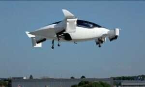 Latająca taksówka Lilium Jet odbyła swój dziewiczy lot