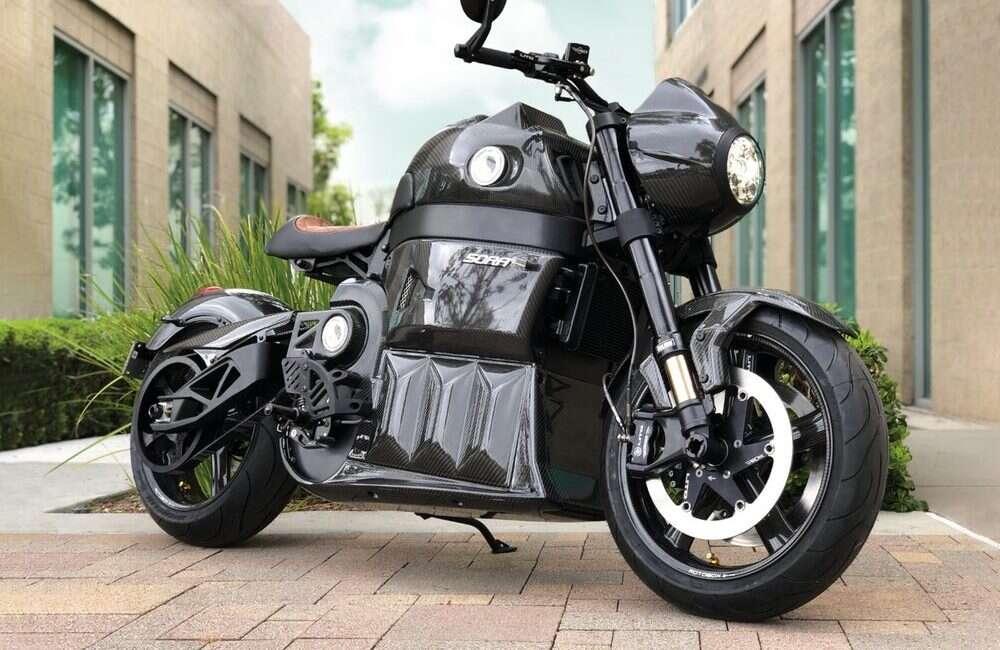 Elektryczny motocykl Sora drugiej generacji od Lito nie zachwyca