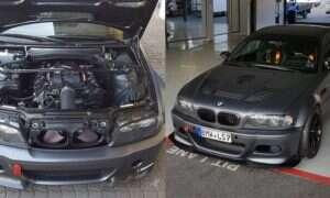 Ponownie ktoś puścił wodzę fantazji z BMW M3 E46
