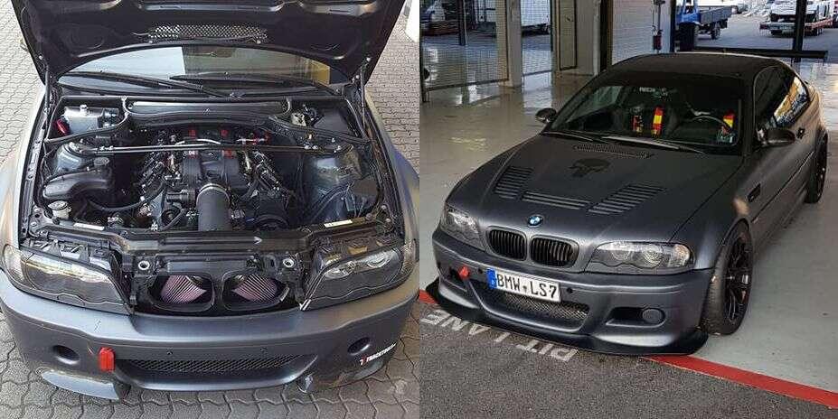 Ponownie ktoś puścił wodzę fantazji z BMW M3