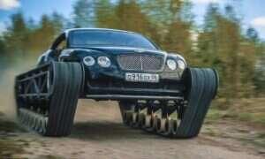 Bentley Continental GT w czołgowym wydaniu od rosyjskich przyjaciół