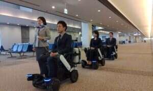 Autonomiczne wózki inwalidzkie rozpoczną testy na lotnisku Narita