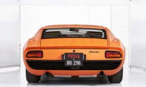 Po 50 latach odnaleziono egzemplarz Lamborghini Miura P400 z filmu Włoska Robota
