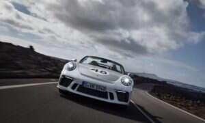 Porsche 911 Speedster nie jest już tajemnicą