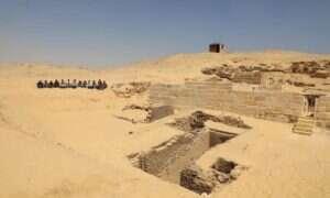 Obok egipskich piramid odkryto 4500-letni cmentarz