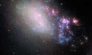 Pojawiły się nowe zdjęcia galaktyki o dwóch twarzach