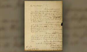 Oto zaginiony list jednego z założycieli Stanów Zjednoczonych