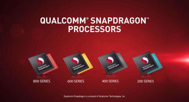 Rodziny procesorów Qualcomm Snapdragon
