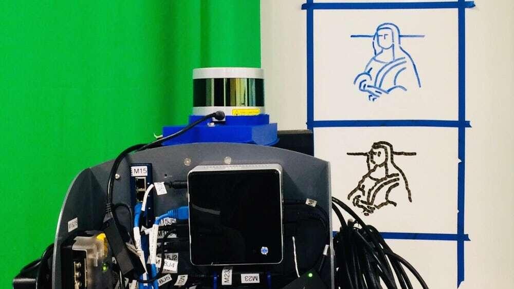 Stworzono robota zdolnego do kopiowania szkiców i pisma odręcznego