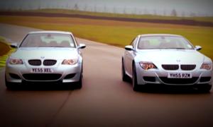 Pojedynek BMW M5 z M6 na torze pokazuje, że nie tylko silnik ma wiele do gadania