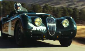 Ten Jaguar XK120 zachwyca swoją wyścigową historią