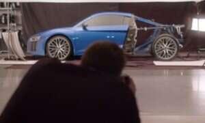 Dla jednego zdjęcia Audi rozebrało połowę swojej R8