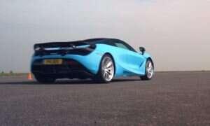 Spotkanie McLarena 720S z BMW S1000RR na jednym torze może zaskoczyć