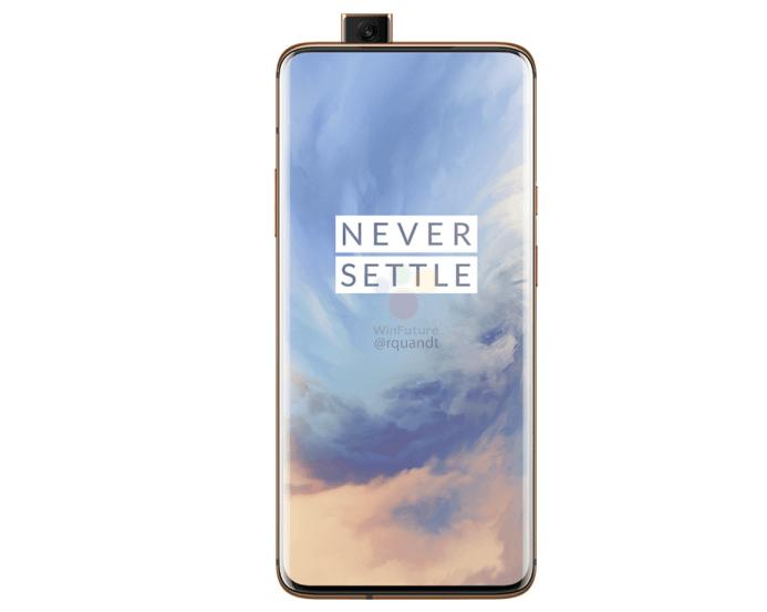 OnePlus 7 Pro, render OnePlus 7 Pro, kolor OnePlus 7 Pro, almond OnePlus 7 Pro, nowy render OnePlus 7 Pro, wygląd OnePlus 7 Pro