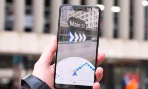 Mapy Google AR trafiają do Pixeli