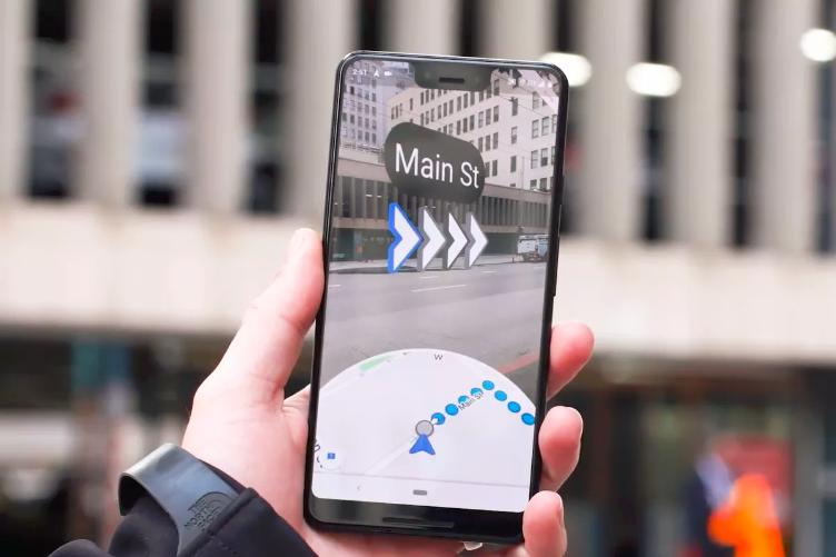 Mapy Google AR, mapy google, Mapy Google AR Pixel, Mapy Google Pixel,