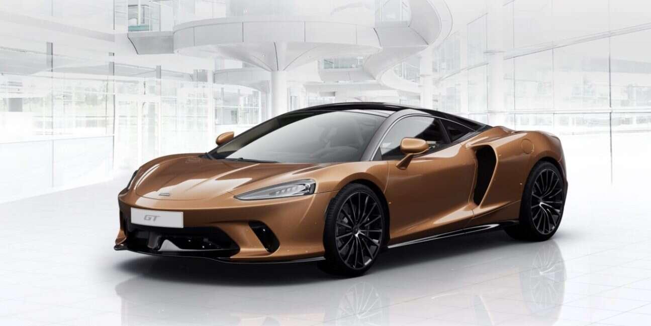 Nowy konfigurator pozwoli Wam stworzyć wymarzonego McLarena GT