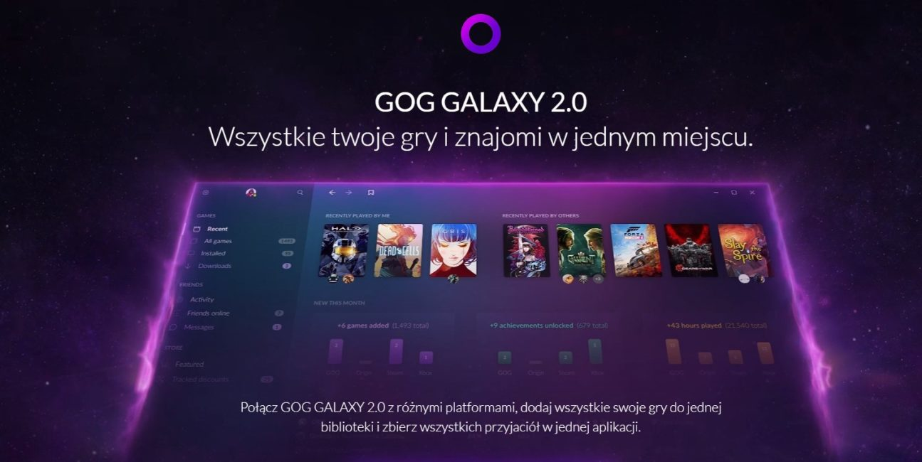 GOG Galaxy 2.0 - CD Projekt stworzy platformę