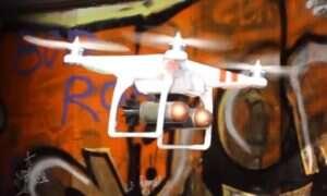 DroneBullet jest dronem stworzonym do zwalczania innych dronów